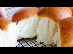 How to make delicious cream cheese dinner roll/Soft and Fluffy milk bread - YouTube