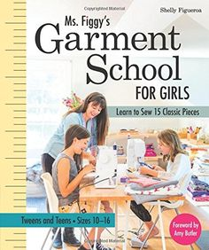 Ms. Figgy's Garment School for Girls Book Review by Shelly Figueroa — Pattern Revolution