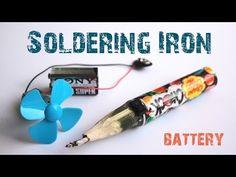 Ugly DIY Portable Soldering Iron | Hackaday