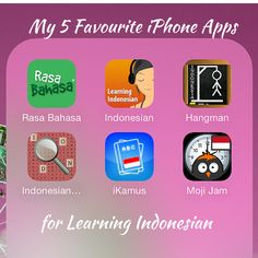 5 Favourite iPhone Apps for Learning Indonesian - indospired