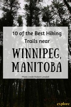 Get outside and explore the nature around Winnipeg, Manitoba, on these 10 hiking trails West Coast Trail, Outdoor Camping, Camping Hammock, Kayak Camping, Camping Tips, Outdoor Gear, Canadian Travel, Hiking With Kids, Hiking Tips