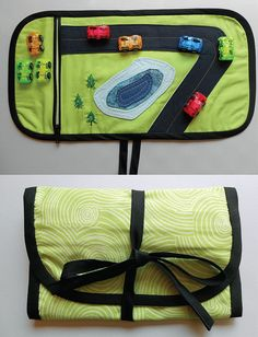 Toy Car Travel Pouch by JenMadsen, via Flickr