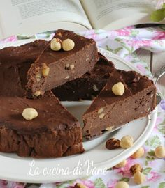 Cake Chocolat, Brownie, Italian Recipes, Sweet Recipes, Cheesecake, Clean Eating, Food Porn, Food And Drink, Sweets