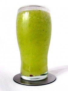 Creamy Avocado Green Tea Smoothie. Can a smoothie reverse gray hair? - FemFusion Fitness