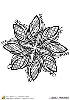 coloring a beautiful mandala stylized leaf hugolescargotcom