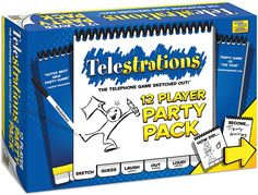 Amazon.com: Telestrations 12 Player - Party Pack: Game: Toys & Games