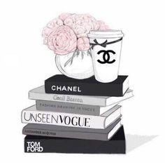 Chanel dessin book