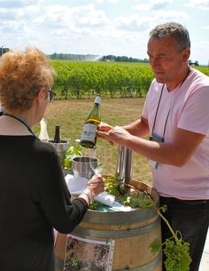 Emmanuel Giboulot is owner of Domaine Emmanuel Giboulot in Beaune, France. (Photo by Elena Galey-Pride)
