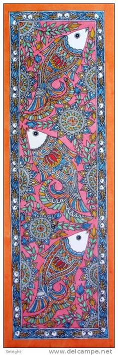Indian Madhubani painting