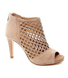 dc98282d485 Antonio Melani Ingride Cutout Booties  Dillards Shoe City
