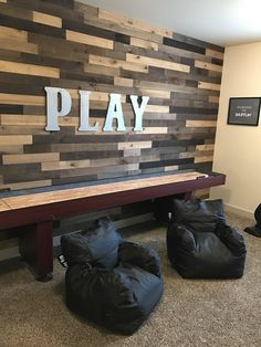 Perfect bean bag chairs for a game room/playroom/media room!  livinglovelydiy.com