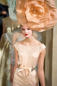 Flower power. Haute Couture 2012.