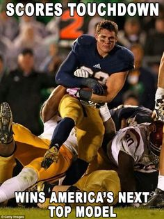 Cam McDaniel | Cam McDaniel is a running back, college student... and now Internet ...