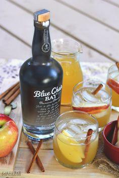Spiced Coconut Rum U0026 Apple Cider Cocktail Bethcakes.com   1 Oz. Blue Chair