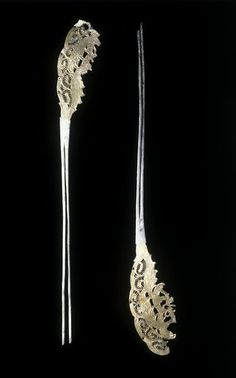 Hairpin | unknown | V&A Search the Collections - Tang Dynasty