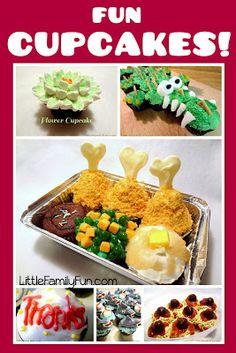 Fun Cupcakes! Fun cupcake ideas.