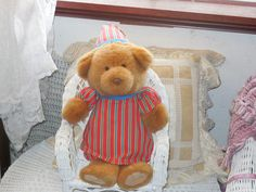 Come Dream with Me Teddy Bear / Not by Daysgonebytreasures on Etsy, $22.00  https://www.etsy.com/listing/190612561/come-dream-with-me-teddy-bear-not