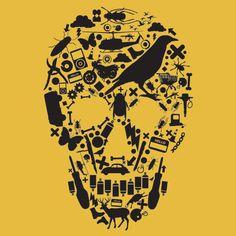 'Skullz' - Camiseteria