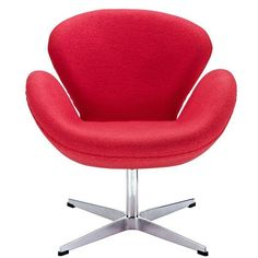 Lucile Lounge Chair RED
