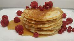 amerikai palacsinta Pancakes, Cookies, Breakfast, Food, Crack Crackers, Morning Coffee, Eten, Cookie Recipes, Meals