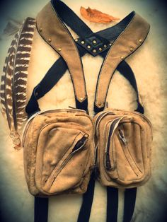#leather #deer #holsters #beauty #boho #ulantia #ulantiastudios #steampunk #burningman ~sand storm~