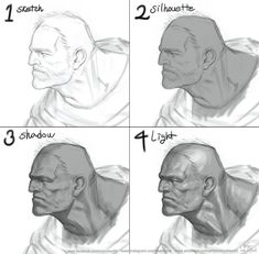 tutki Home Trends 2018 color trends home Digital Painting Tutorials, Digital Art Tutorial, Art Tutorials, Painting Process, Process Art, Figure Drawing, Drawing Reference, Anatomy Drawing, Art Studies