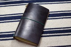 Premium Black Vegetable-tanned Leather by EternalLeatherGoods