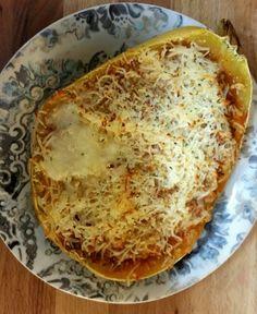Cheesy Spaghetti Squash Recipe