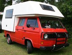 volkswagen t3 pick up camper
