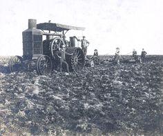 archivo general de la nacion  1890's Arando con motor