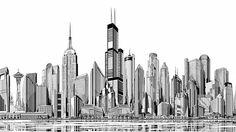 drawings of buildings - Google Search