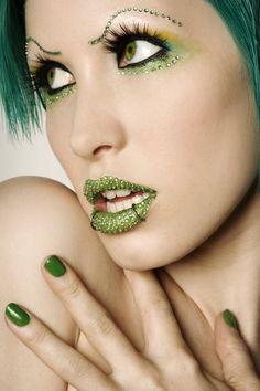 Green diamond lips. - Full. by ~Ryo-Says-Meow on deviantART