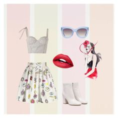 """Helou honey 🍯💛"" by teonakolevska ❤ liked on Polyvore featuring Rosie Assoulin and Alice + Olivia"