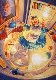 Alice in Wonderland | Greg Hildebrandt