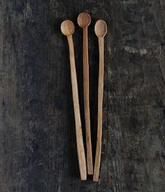 Méchant Design: wood spoons collection