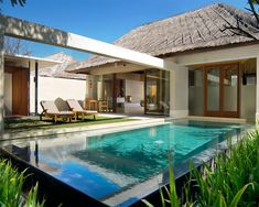 The Bale, Nusa Dua is a beautiful boutique hotel in Bali. Chic Retreats members receive hotel discounts and other benefits when booking The Bale, Nusa Dua online. Garden Design Plans, Yard Design, Tropical Pool, Relaxing Places, Swimming Pool Designs, Garden Pool, Pool Houses, In Ground Pools, Bali