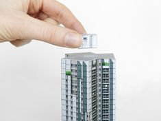 """Paris BrutA collection of illustrated paper models portraying brutalist architecture of Paris from late 1950s-1970s. The series features buildings scattered around the City of Paris arrondissements, as well as the infamous """"banlieues"""" built over newly i…"""