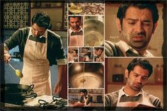 love men cooking.. its a shame i didnt marry a chef.. lol :( also..love Barun Sobti<3