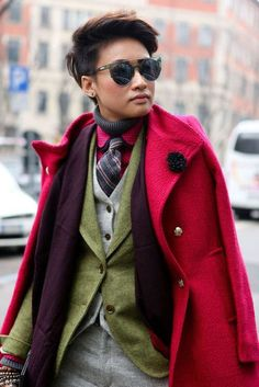 Like a boy.... Layering #LK
