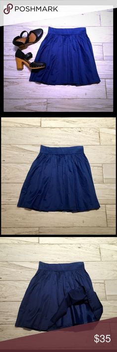 DIVIDED🌹Adorable Cotton Skirt! Like New!🌈💐🌹 Silky Smooth Cotton! Side Pockets! Fully Lined! Back Zipper. H&M Skirts