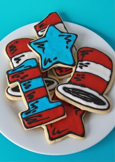 hotcakes: Cat in the Hat Cookies