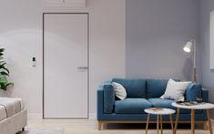 Голубой диван в родительской спальне Sofa, Couch, Furniture, Home Decor, Homemade Home Decor, Sofas, Home Furnishings, Interior Design, Couches