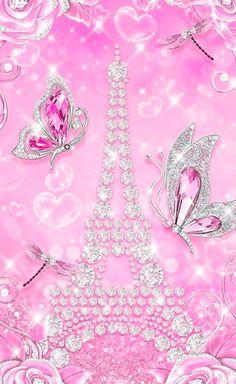 Glamour Wallpaper, Bling Wallpaper, Iphone Wallpaper Glitter, Butterfly Wallpaper Iphone, Disney Phone Wallpaper, Heart Wallpaper, Girl Wallpaper, Beautiful Wallpaper, Purple Backgrounds