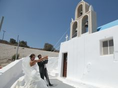 Aspasia Rammos.Santorini wedding