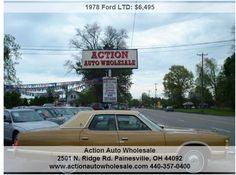 78 Miles-Very Clean- All Orgional Ford Ltd, Free Cars, Automobile, Rust Free, America, Vehicles, Wheels, Car, Autos