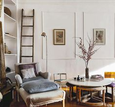 Living space: faded vintage