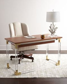Jacques Desk by Jonathan Adler at Neiman Marcus.             Price:  $3,999.00   Shipping Only:  $250.00