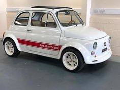 Fiat 500L -Arbarth evocation-Fab condition -restored.