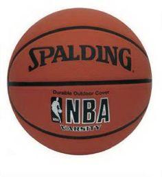 Spalding Div Russell 63-307 Full-Size Nba Varsity Rubber Basketball fe722e7780e4c