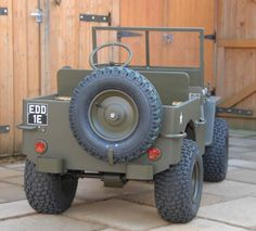 My obsession Mini Jeep, Go Kart Plans, Off Road, Old Tractors, Pedal Cars, All Cars, Land Rover Defender, Golf Carts, Vintage Cars